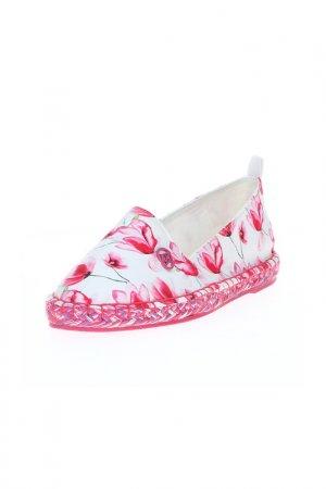 Эспадрильи Armani Jeans. Цвет: розовый, белый