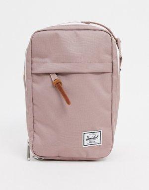 Пепельно-розовая сумка для путешествий . Chapter Connect-Розовый Herschel Supply Co