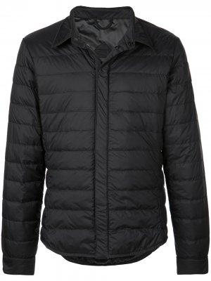Пуховик Jackson Shirt Black Label Canada Goose. Цвет: черный