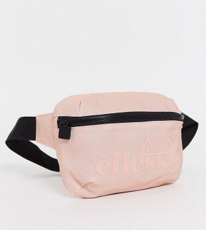Розовая сумка-кошелек на пояс эксклюзивно ASOS-Розовый ellesse