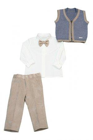 Брюки, жилет, рубашка, бабочка Bimbalo. Цвет: не указан