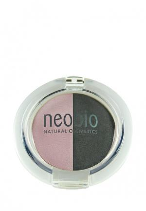 Тени для век Neobio 01 розовый бриллиант  , 2,5 г. Цвет: разноцветный