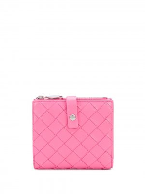 Мини-кошелек Bottega Veneta. Цвет: розовый