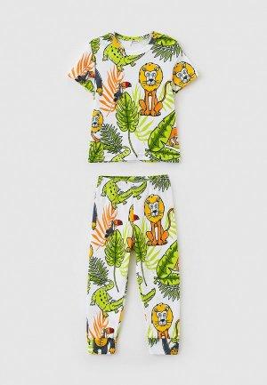 Пижама Youlala. Цвет: разноцветный