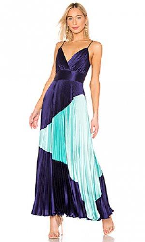 Вечернее платье JILL STUART. Цвет: синий