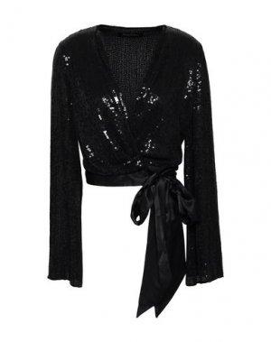 Блузка JENNY PACKHAM. Цвет: черный