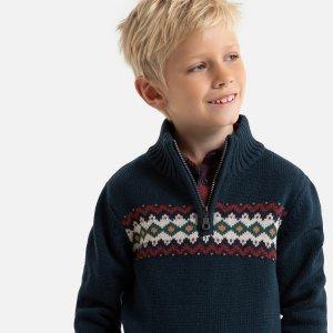 Пуловер LaRedoute. Цвет: синий