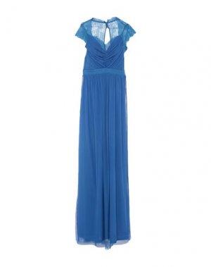 Длинное платье LIPSY. Цвет: ярко-синий