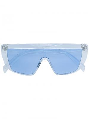 Солнцезащитные очки Italia Independent. Цвет: белый
