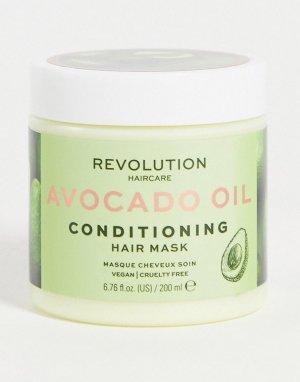 Маска-кондиционер для волос с авокадо Mask Conditioning Avocado-Бесцветный Revolution Hair