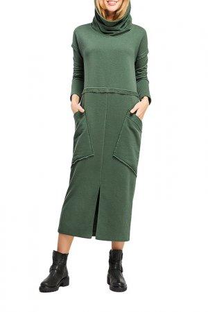 Платье Giulia Rossi. Цвет: хаки