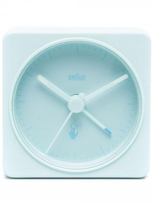 Часы Braun BC02 Off-White. Цвет: синий