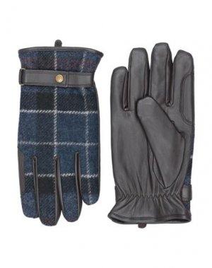 Перчатки BARBOUR. Цвет: темно-синий