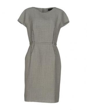 Платье до колена LANVIN. Цвет: серый