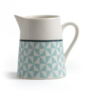 Молочник из фарфора, Adid La Redoute Interieurs. Цвет: белый/синий рисунок