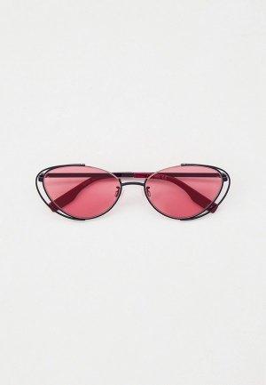 Очки солнцезащитные McQ Alexander McQueen MQ0312S. Цвет: черный