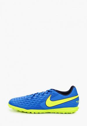 Шиповки Nike LEGEND 8 CLUB TF. Цвет: синий