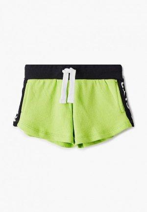 Шорты спортивные Gulliver. Цвет: зеленый