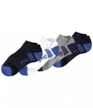 Комплект Носков «Спорт» — 4 пары Atlas For Men. Цвет: серый