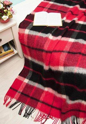 Плед Arloni 200x140. Цвет: красный