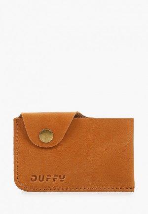 Визитница Duffy. Цвет: коричневый