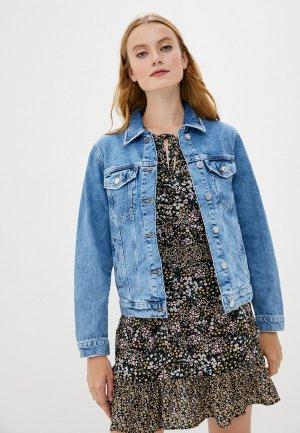 Куртка джинсовая Mavi KYLIE. Цвет: синий