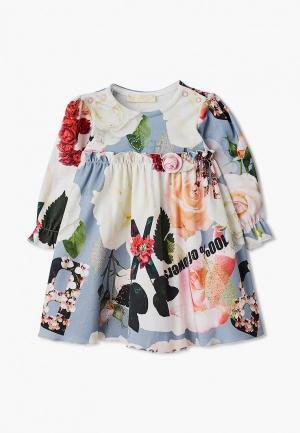 Платье Choupette. Цвет: разноцветный