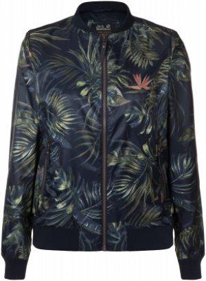 Ветровка женская Jack Wolfskin Tropical, размер 52-54. Цвет: синий
