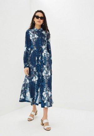Платье Adolfo Dominguez. Цвет: синий