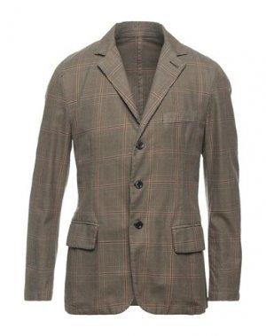 Пиджак 120%. Цвет: хаки
