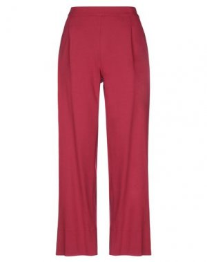 Повседневные брюки LABORATORIO. Цвет: пурпурный