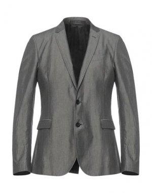 Пиджак MESSAGERIE. Цвет: свинцово-серый