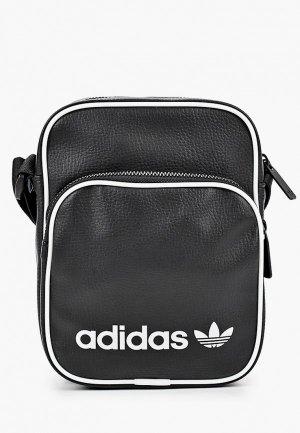 Сумка adidas Originals VINT MINI BAG. Цвет: черный
