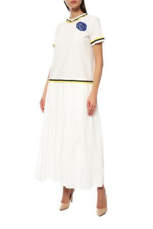 Платье Ballantyne. Цвет: белый