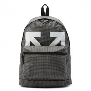 Рюкзак Off-White. Цвет: серый