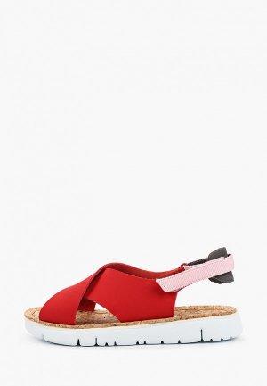 Сандалии Camper Oruga Sandal. Цвет: красный