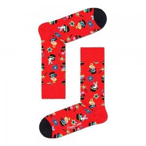 Magic Socks Happy. Цвет: красный