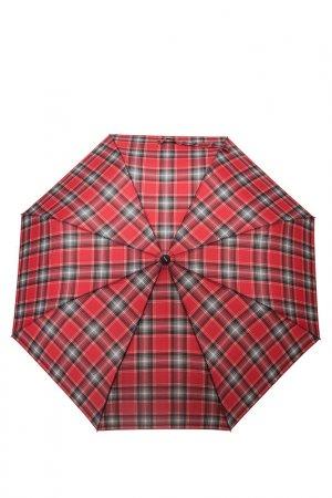 Зонт Doppler. Цвет: клетка, красный