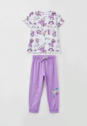 Пижама PlayToday. Цвет: разноцветный