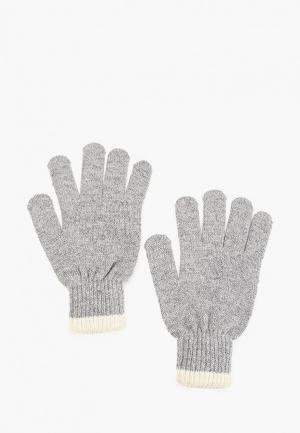 Перчатки Mango Man PE LLIS. Цвет: серый