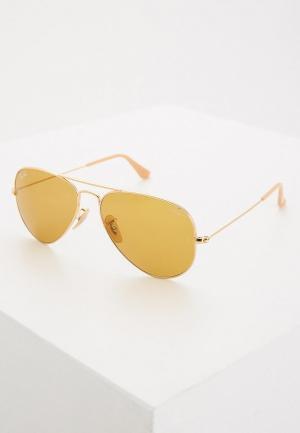 Очки солнцезащитные Ray-Ban® RB3025 90644I. Цвет: золотой