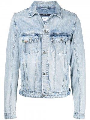 Джинсовая куртка Kolor Ksubi. Цвет: синий