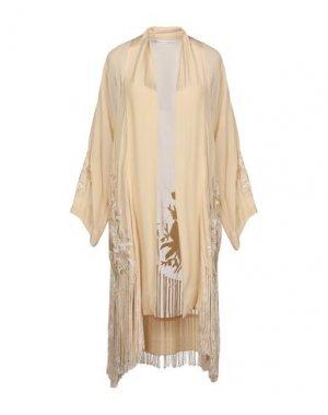 Легкое пальто GADO by MARGRIET WAGERAAR. Цвет: песочный