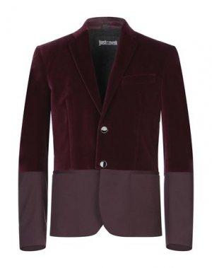 Пиджак JUST CAVALLI. Цвет: красно-коричневый