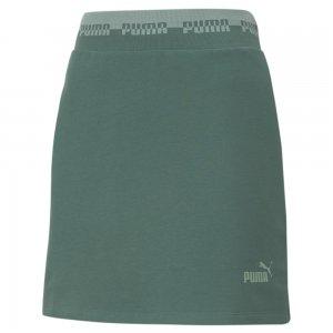Юбка Amplified Womens Skirt PUMA. Цвет: зеленый