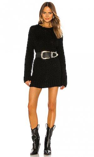 Вязаное платье The Range. Цвет: черный
