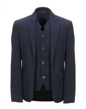Пиджак MNML COUTURE. Цвет: темно-синий
