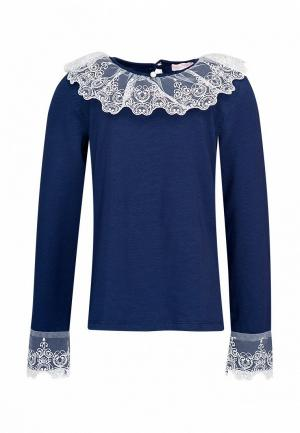 Блуза Красавушка. Цвет: синий