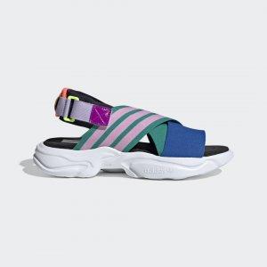 Сандалии Magmur Originals adidas. Цвет: зеленый