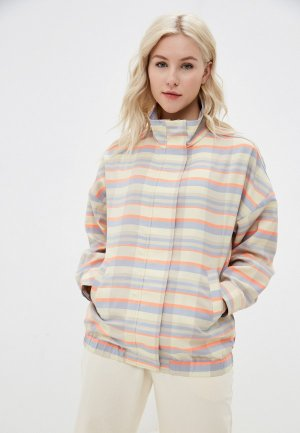 Куртка UNQ. Цвет: разноцветный